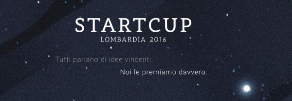 Premio Start Cup Lombardia 2016