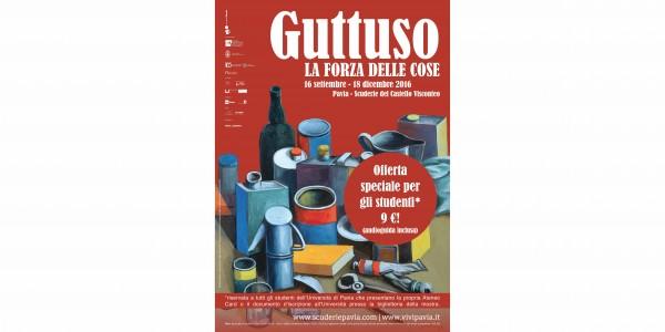 """Dal 16 settembre – Mostra """"Guttuso. La forza delle cose"""""""