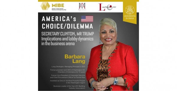 10 ottobre – America's Choice/Dilemma