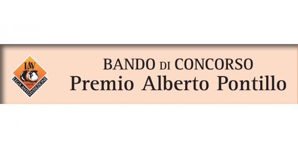 """Concorso """"4 nuove idee per i 40 anni di LAV"""" - Premio intitolato ad Alberto Pontillo"""