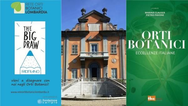 """1 ottobre – """"Orti Botanici, eccellenze italiane"""" e """"Big Draw"""""""