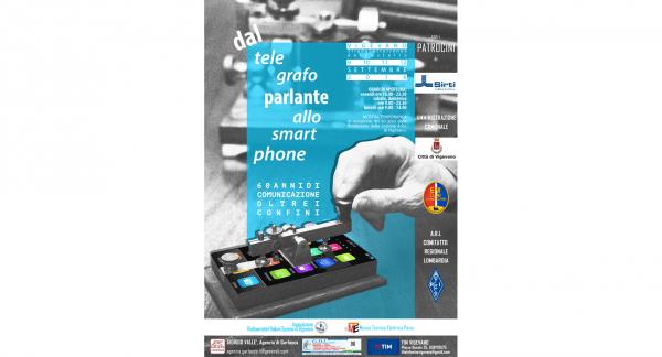 """Dal 9 al 12 settembre - Mostra """"Dal telegrafo parlante allo smartphone"""""""