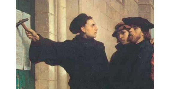 22 marzo - 1517-2017: Cinque secoli dopo Lutero