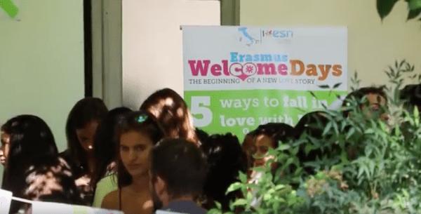 Erasmus Welcome Day 2016 all'Università di Pavia (Video)