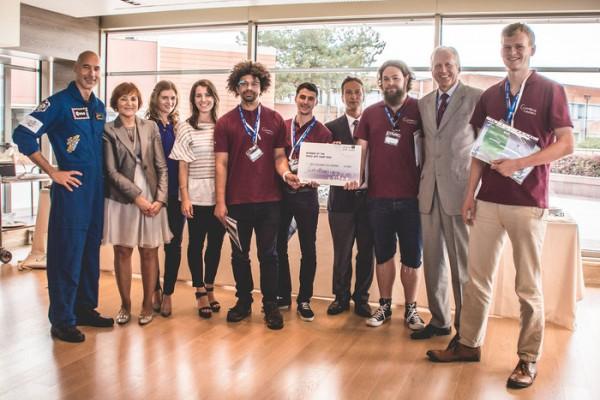 """Studente di dottorato UNIPV vince il concorso """"Space App Camp"""""""