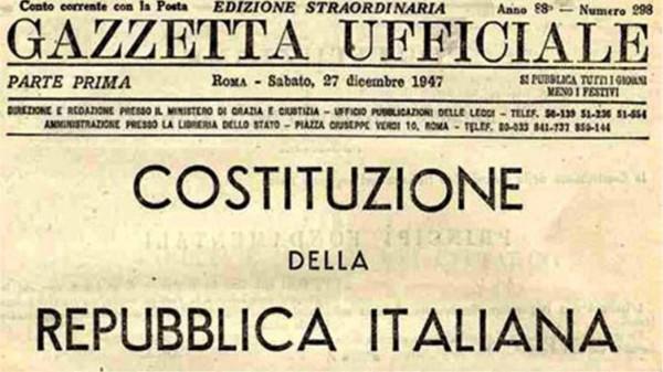 11, 18, 26 ottobre - La revisione della Costituzione