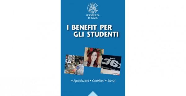 Nuovo booklet: I benefit per gli studenti UNIPV