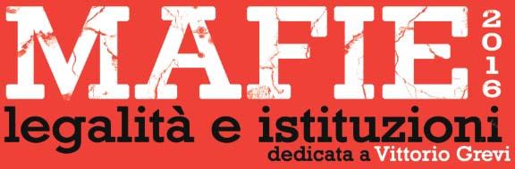 1 dicembre – Mafie: legalità e istituzioni