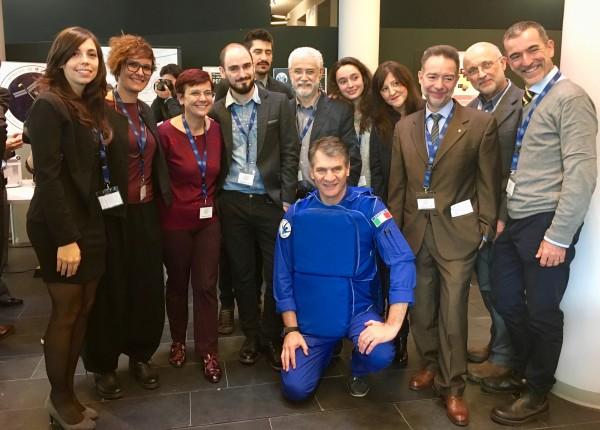 Un esperimento targato UNIPV per l'astronauta Paolo Nespoli a bordo della Stazione Spaziale Internazionale