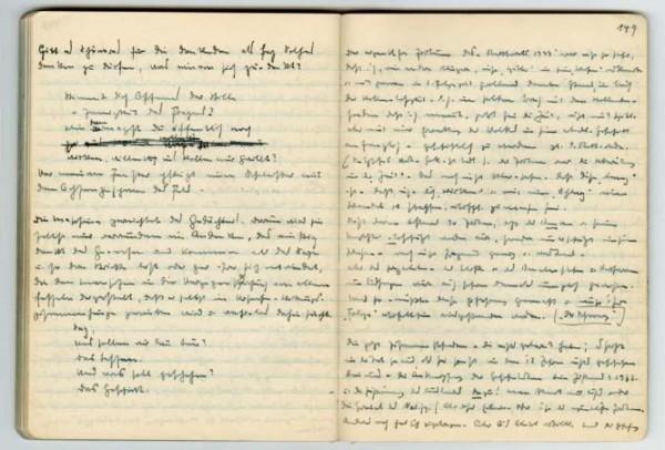 """15 dicembre – Come tradurre i """"Quaderni neri"""" di Martin Heidegger?"""