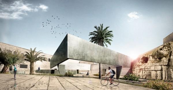 La nuova immagine di Gerusalemme EST progettata da UNIPV