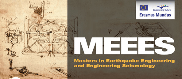 Erasmus+ Master in Earthquake Engineering and/or Engineering Seismology (MEEES)