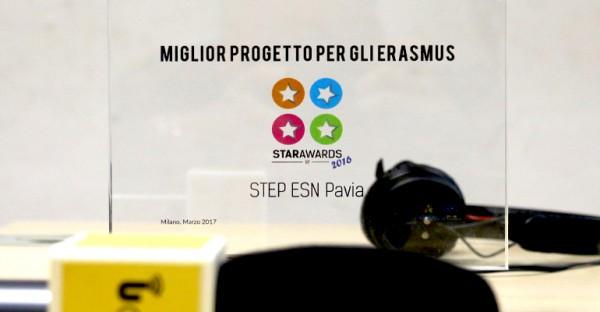 """Il programma di UCampus """"Erasmuslive"""" premiato agli Star Awards di ESN Italia"""