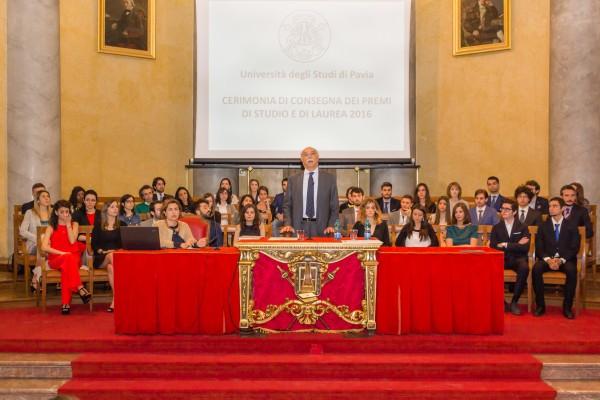 7 maggio – Cerimonia di consegna dei Premi di Studio e di Laurea UNIPV