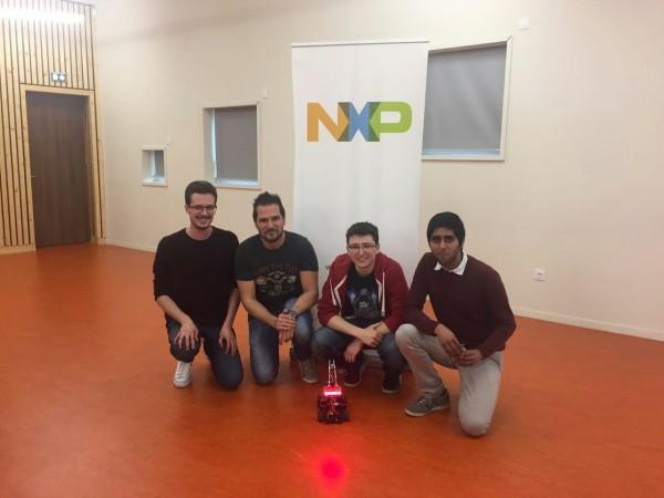 UNIPV qualificata alle finali europee della NXP Cup con l'auto a guida autonoma