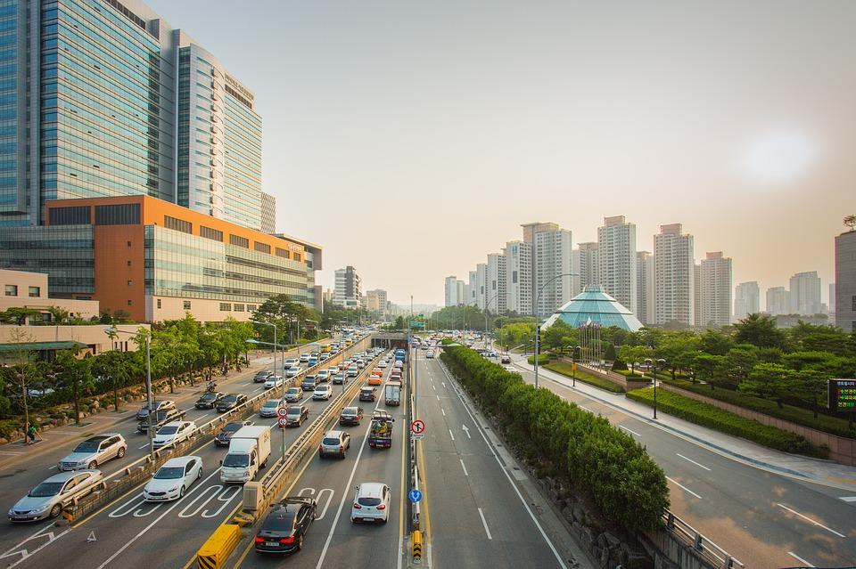 Corea del Sud Seul road-1992365_960_720