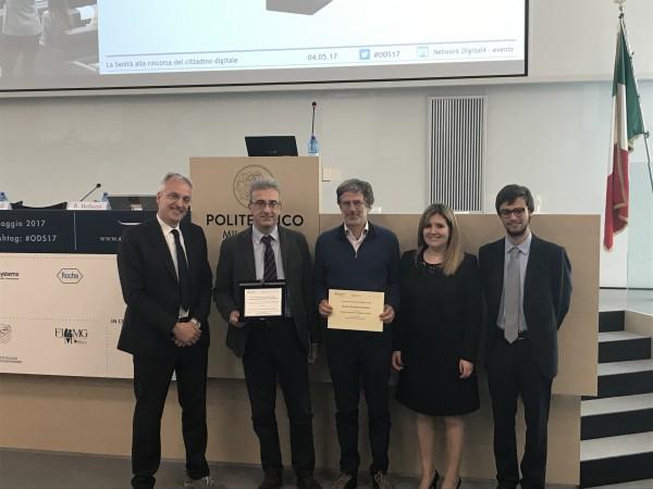 Prof. Bellazzi ritira il Premio Innovazione digitale in sanità per la Maugeri
