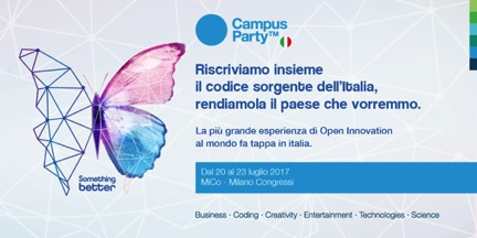 20 Top Pass gratuiti per Campus Party agli studenti UNIPV!