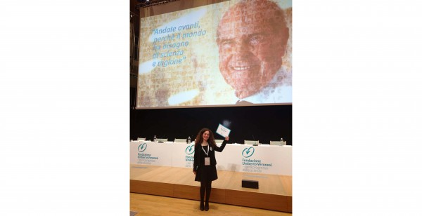 Cerimonia GRANT 2017 della Fondazione Umberto Veronesi: tra i protagonisti una giovane ricercatrice UNIPV