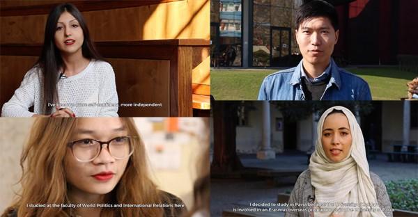 Una serie di video racconta le esperienze degli studenti internazionali all'Università di Pavia