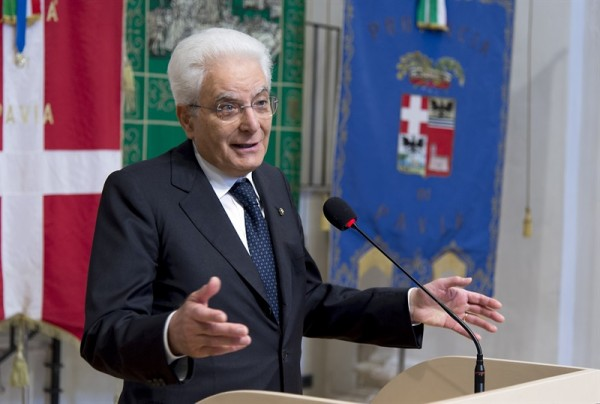 Il Presidente Mattarella al Collegio Ghislieri (video)