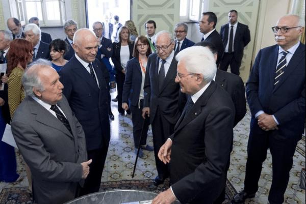 Il Presidente Mattarella al Collegio Ghislieri (Video della Presidenza della Repubblica)