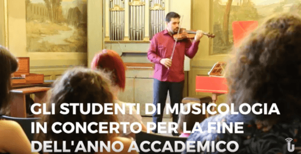 Gli studenti di Musicologia dell'Università di Pavia in concerto (Video)