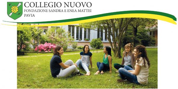Collegio Nuovo: Concorso per 23 posti d'alunna (gratuiti o a retta agevolata)