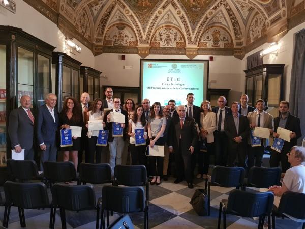 Premio ETIC a due laureate UNIPV