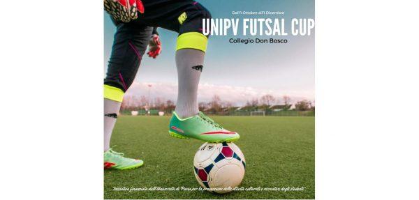 Dall'1 ottobre all' 1 dicembre 2017 - UniPv Futsal Cup