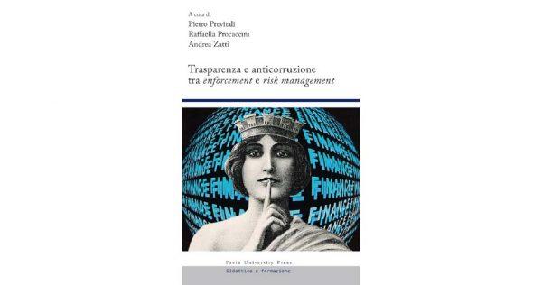 """28 settembre – Presentazione volume """"Trasparenza e anticorruzione"""""""