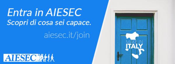 28 settembre – Incontro AIESEC