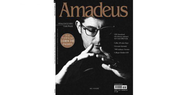 """Mensile """"Amadeus"""" dedica la copertina di settembre a Giulio Prandi"""