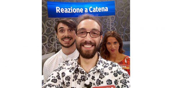 """Studenti UNIPV del Collegio Ghislieri vincitori del programma """"Reazione a catena"""" su Rai1"""