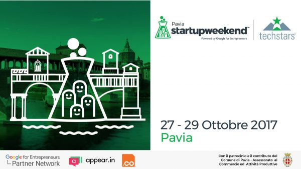 Dal 27 al 29 ottobre – Start Up Weekend Pavia