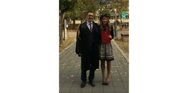 Prima laureata magistrale in Industrial Automation Engineering UNIPV