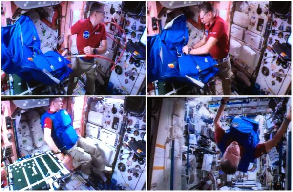 """Progetto UNIPV """"PERSEO"""", sperimentazione effettuata sulla ISS"""