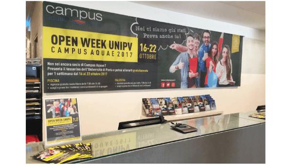 Dal 16 al 22 ottobre – Open Week UNIPV 2017 al Campus Aquae