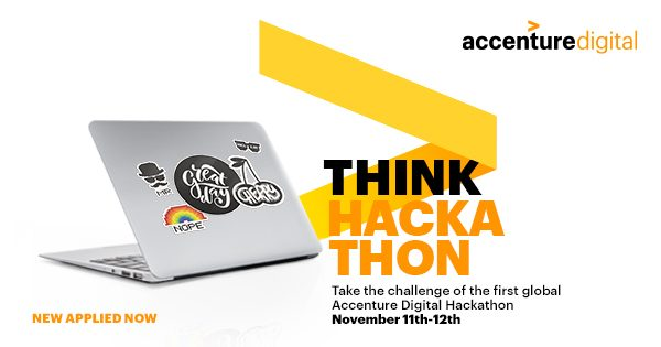 11 e 12 novembre – Accenture Digital Hackathon. Global Connected Edition