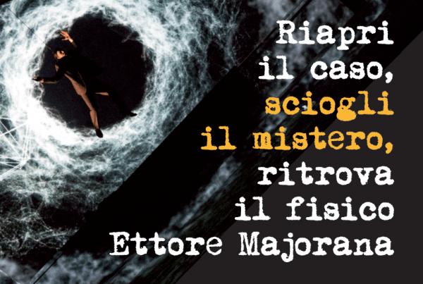 """16 e 18 novembre – Spettacolo """"Ettore Majorana"""""""