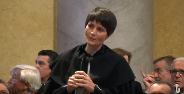 La lectio di Samantha Cristoforetti all'Università di Pavia (Video)