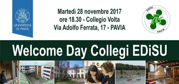 28 novembre - Welcome Day EDiSU