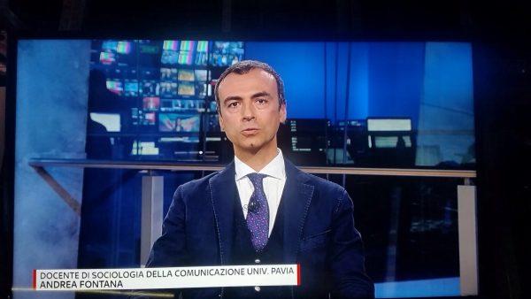 """Andrea Fontana UNIPV intervista a SkyTG24 sul tema """"fake news"""""""