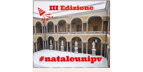 Anche quest'anno l'Università di Pavia festeggia il Natale su Instagram!