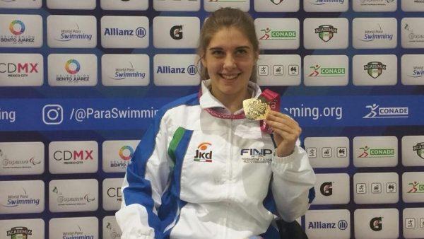Ottimi risultati per la nuotatrice Monica Boggioni ai Campionati del mondo paralimpici di Città del Messico!