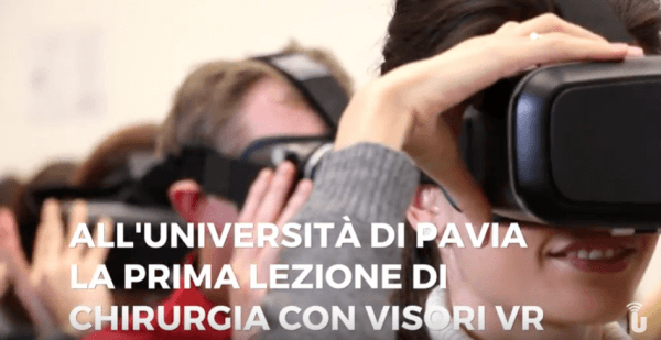All'Università di Pavia la prima lezione di chirurgia con visori VR (Video)