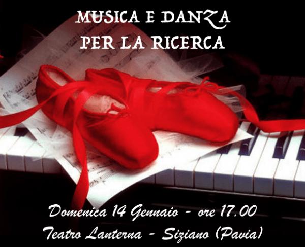 14 gennaio – Musica e Danza per la Ricerca