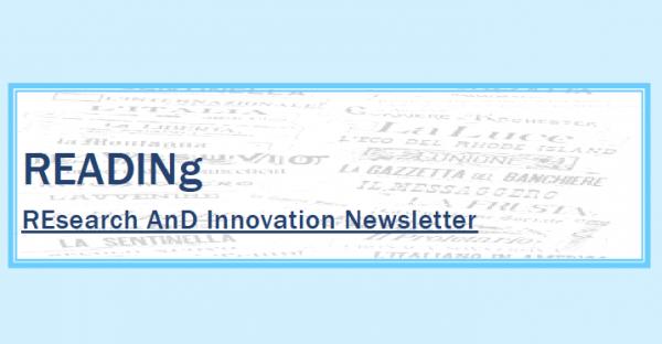 Il Servizio Ricerca e Terza Missione UNIPV presenta il primo numero di READINg
