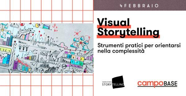 4 febbraio – Visual Storytelling. Strumenti pratici per orientarsi nella complessità