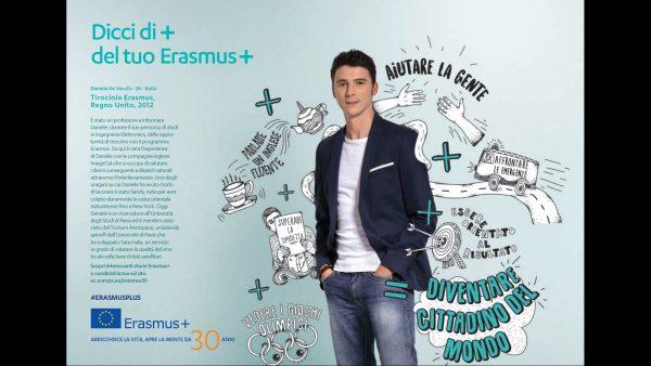"""Laureato UNIPV selezionato come """"Volto Nazionale Erasmus"""" per i 30 anni del programma Erasmus"""